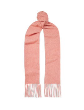Canada Skinny Fringed Wool Scarf by Acne Studios