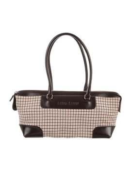 Houndstooth Handle Bag by Miu Miu