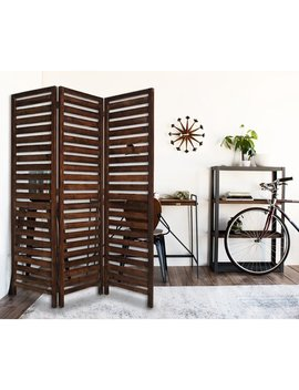Nickolas 3 Panel Room Divider by Loon Peak
