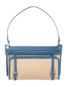 Mini Leather Shoulder Bag by Tod's