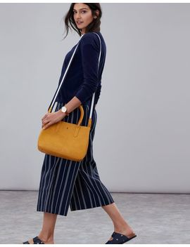 Thernwell Bright Faux Leather Grab Purse by Joules