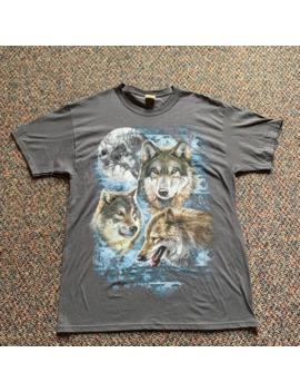 Vintage Wolf Shirt L by Vintage  ×  Animal Tee  ×  American Vintage  ×