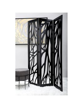 Brito 3 Panel Room Divider by Fleur De Lis Living