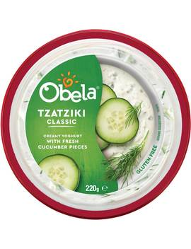 Obela Tzatziki Dip Classic 220g by Obela