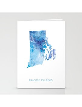 Rhode Island Stationery Cards by Society6