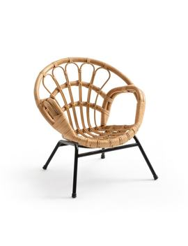 Malu Vintage Style Child's Rattan Armchair by La Redoute Interieurs