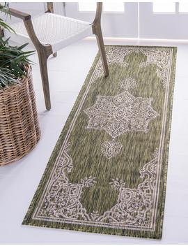 2' X 6' Outdoor Traditional Runner Rug by E Sale Rugs