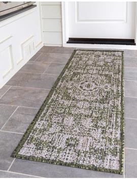 2' 2 X 6' Outdoor Traditional Runner Rug by E Sale Rugs