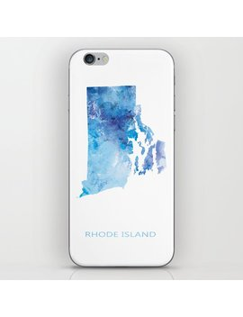 Rhode Island I Phone Skin by Society6