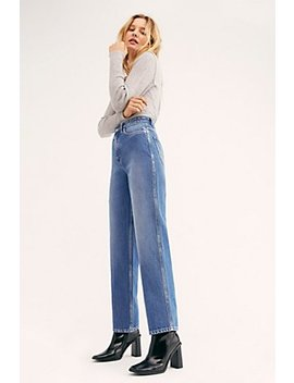 Lee High Rise Stove Pipe Jeans by Lee