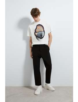 Pantaloni Premium Cu Pliuri by Zara