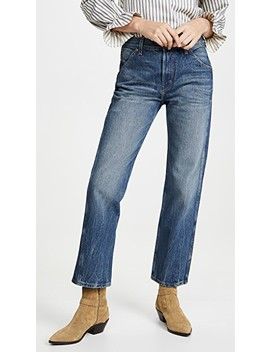 Georgia Mid High Straight Leg Jeans by B Sides