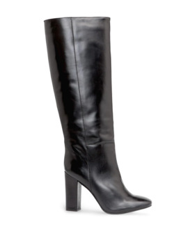 Knee High Leather Boots by Mango