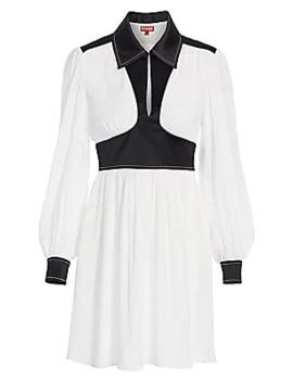 Dolly Long Sleeve Dress by Staud