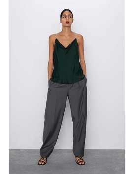 Jewel Strap Camisole by Zara