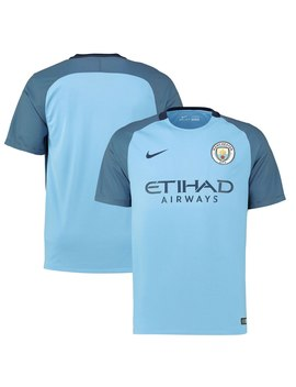 Manchester City Nike 2016/17 Team Home Replica Jersey   Blue by Nike