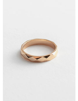 Geometric Ridge Ring by & Other Stories