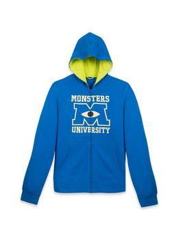 Monsters University Zip Up Hoodie For Adults | Shop Disney by Disney