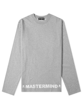 Mastermind World Long Sleeve Opal Crew Tee by Mastermind World