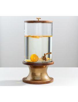Bleecker Mango Wood Drink Dispenser by Pottery Barn