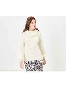 Wide Roll Neck Jumper by Oasis