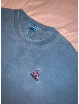 Vintage Nike Acg Logo T Shirt by Nike Acg  ×