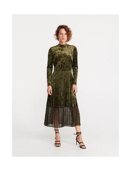 Welurowa Sukienka by Reserved