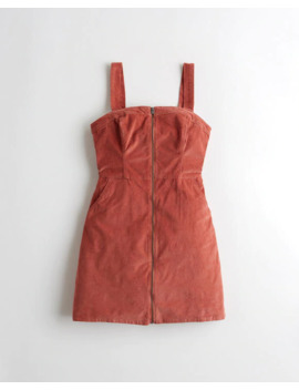Zip Front Corduroy Dress by Hollister
