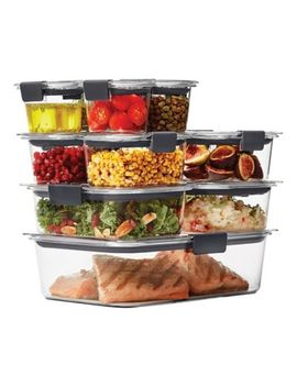 Rubbermaid® Brilliance 22 Piece Food Storage Container Set by Bed Bath And Beyond