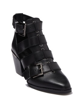 Griffin Leather Bootie by Michael Michael Kors