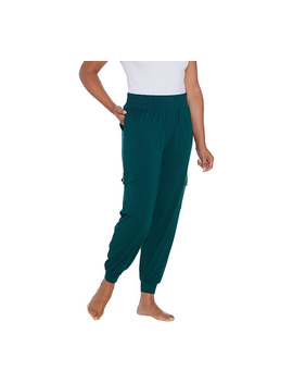 Any Body Cozy Knit Cargo Jogger Pants With Pockets by Any Body® Lounge And Sleepwear