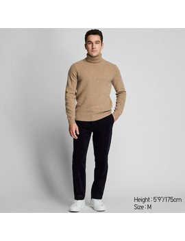 Men Premium Lambswool Turtleneck Jumper (5) by Uniqlo