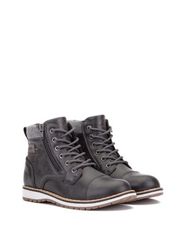 Finley Combat Boot (Toddler, Little Kid, Big Kid) by Xray