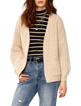 Lilah Cable Knit Cardigan by Heartloom