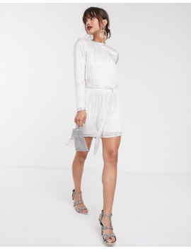 Asos Edition Linear Beaded Mini Dress by Asos Edition