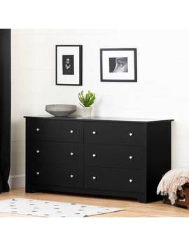 Northampt 6 Drawer Double Dresser by Three Posts Teen