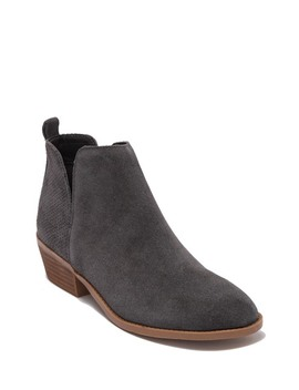 Salado Perforated Suede Bootie by Steve Madden