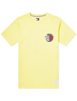 Tommy Jeans Summer Globe Tee by Tommy Jeans