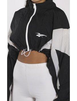 Vintage Reebok Crop Windbreaker Jacket by Frankie.