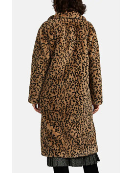 Elkin Leopard Print Faux Fur Coat by A.L.C.