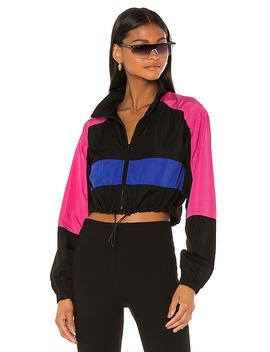 Ayleen Track Jacket In Black Multi by Superdown