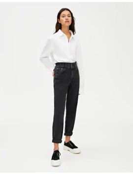Jeans Med Slouchy Passform Och Resårmidja by Pull & Bear