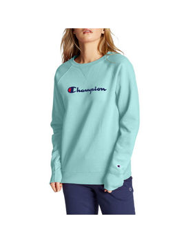 Champion Womens Fleece Crew Sweatshirt by Champion