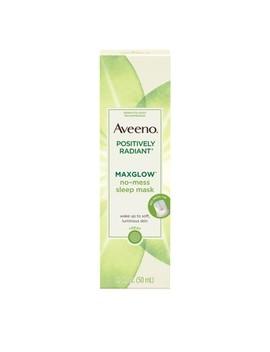 Aveeno Positively Radiant Max Glow No Mess Sleep Face Mask   1.7 Fl Oz by Aveeno