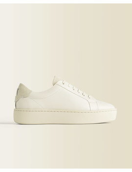 Rayla Flatform Leather Trainer Rayla Flatform Leather Trainer by Jigsaw