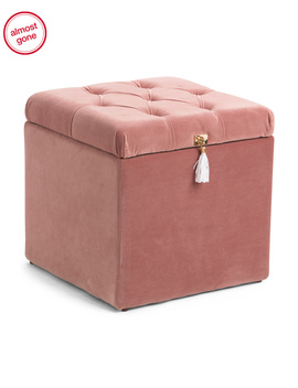 Movable Square Shoe Storage Ottoman by Tj Maxx