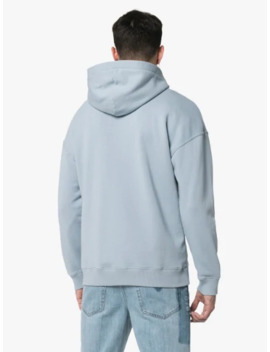 Baby Blue Faded Logo Cotton Hoodie by Givenchy
