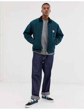 Carhartt Wip – Organic Og Detriot – Jacke In Entenblau by Asos