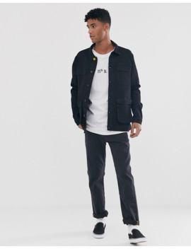Brooklyn Supply Co – Jeansjacke In Schwarz by Asos