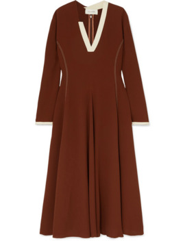 Crepe Midi Dress by Wales Bonner